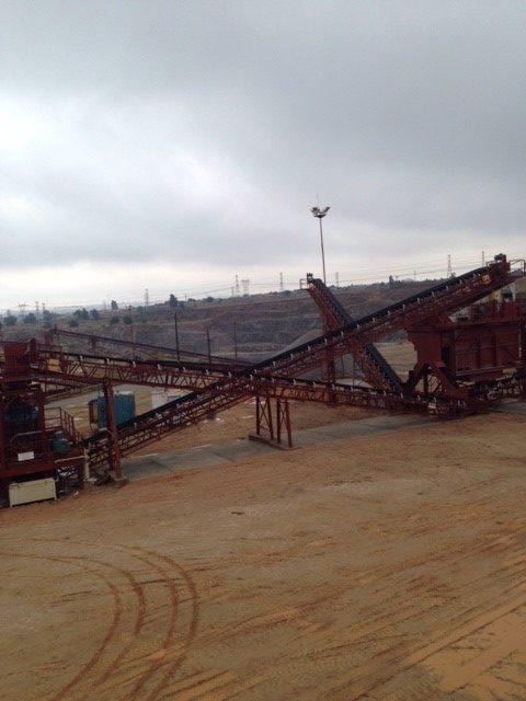 Klippies Incline Conveyor Belt